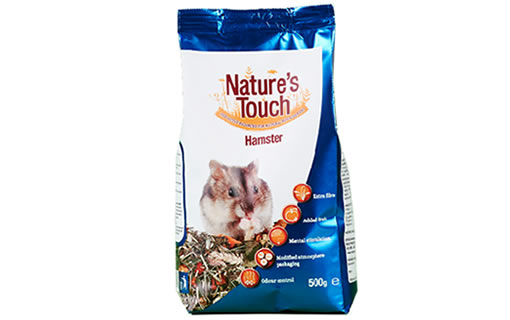 Natures Touch, Pet Food, Hamster